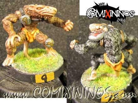 Ratmen - Lineman nº 2 Ratten - Green Dog