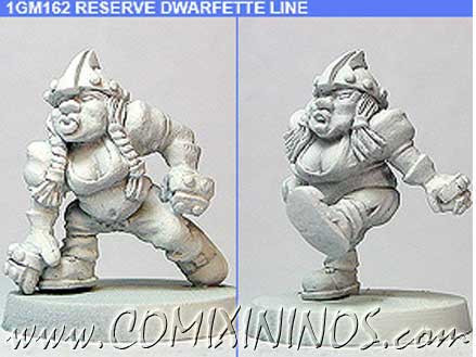 Dwarves - Dwarfette Linewomen nº 1 Set of 2 – Shadowforge