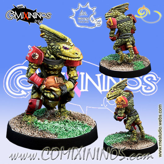 Lizardmen - Baby Lizard nº 1  - Meiko Miniatures
