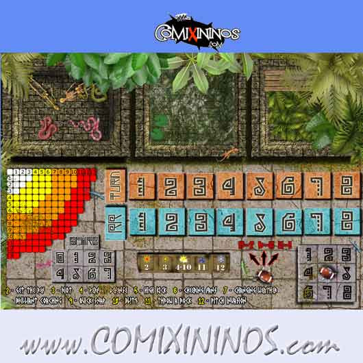 Lustria Plastic Dugout with 3 Sections - Comixininos