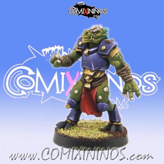 Lizardmen - Lizaurus nº 4 - Willy Miniatures