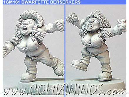 Dwarves - Dwarfette Trollslayer Set of 2 – Shadowforge