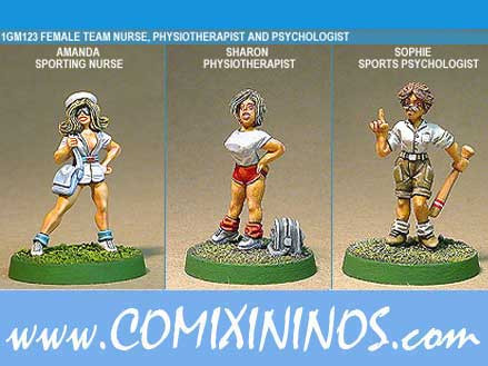 Humans - Nurse Fisio Psychologist Set of 3 - Shadowforge