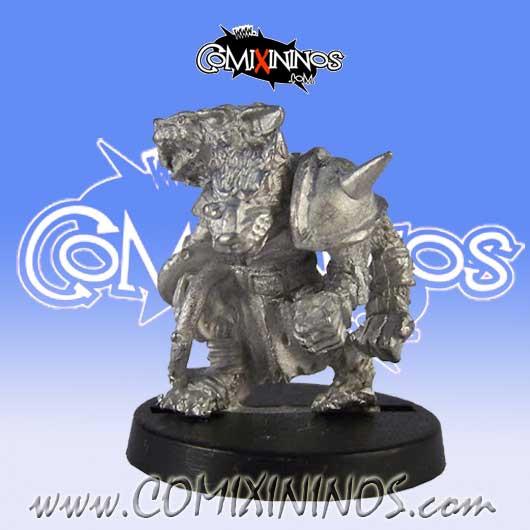 Ratmen - Mutated Lineman nº 6 - Uscarl Miniatures