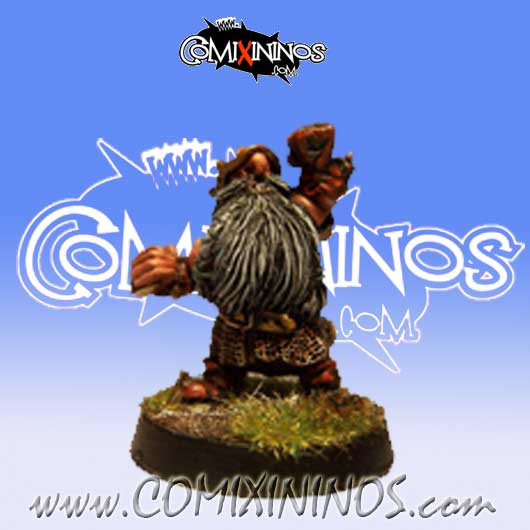 Evil Dwarves - Evil Dwarf Blocker nº 1  - Uscarl Miniatures