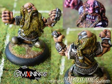 Dwarves - Veteran Dwarf - Mano di Porco