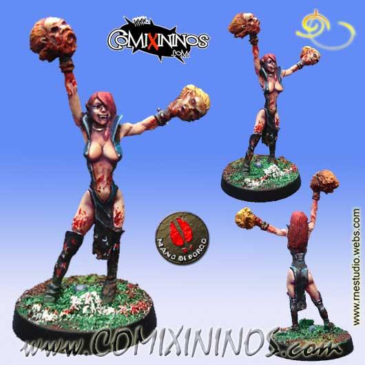 Undead - Gothic Cheerleader - Mano di Porco