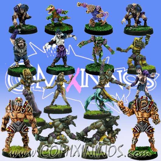 Necromantic - Necro Team of 16 Players - Rolljordan