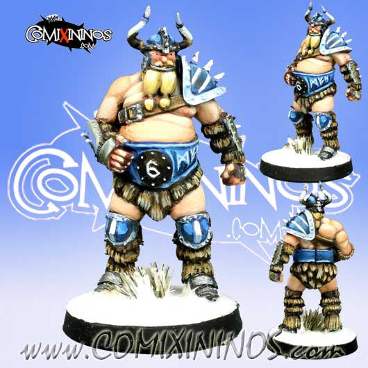 Norses - Fatso Norse Lineman nº 6 - Meiko Miniatures