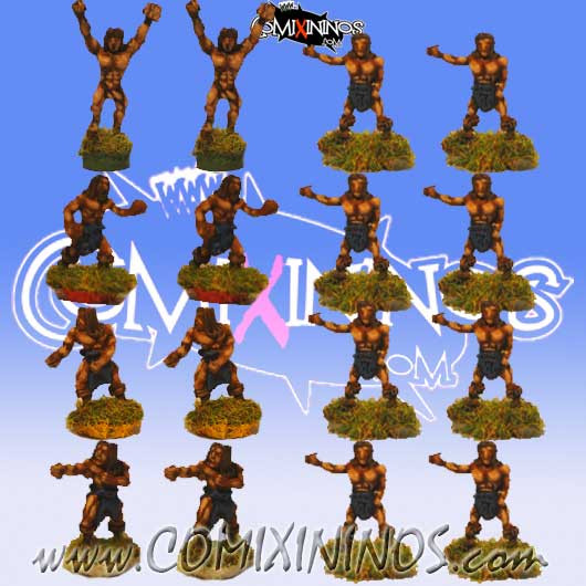 Magnetic Norse Team of 16 Players for Mini-BB
