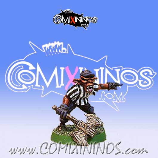 Orcs / Goblins - Grouchy Greenutts Goblin Referee - Shadowforge