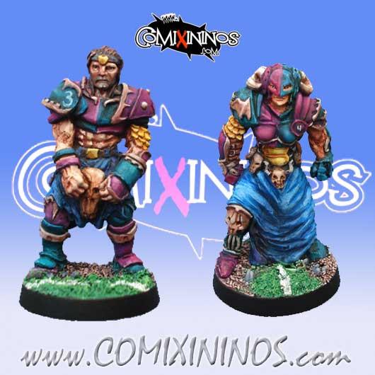 Evil - Set B of Evil Warriors nº 3 and 4 - Mano di Porco