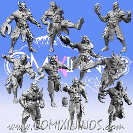 Evil Pact - Set of 10 Marauders - RN Estudio