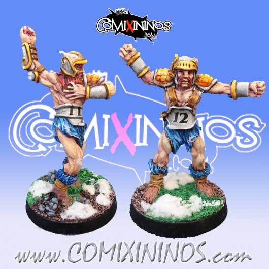 Norses - Set of Norse Throwers nº 1 and 2 - Mano di Porco