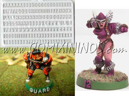 Number Template for Bases - Slater's
