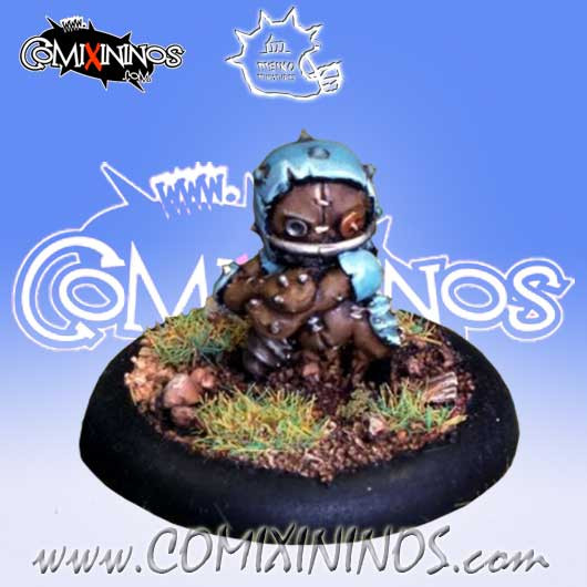 Halflings - Puppet Thrower nº 2 - Meiko Miniatures