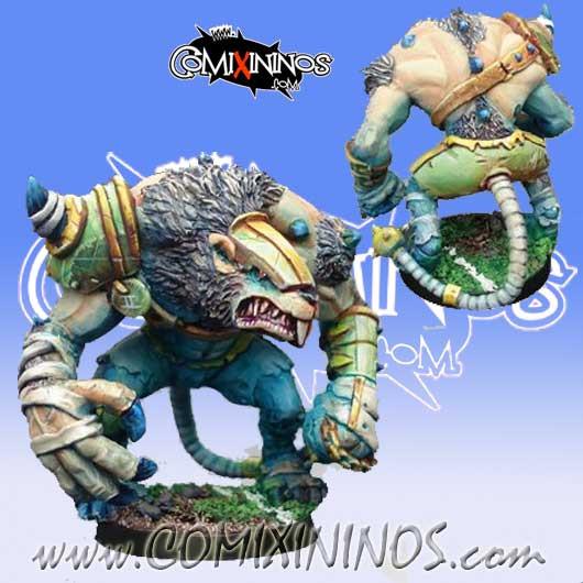 Ratmen - Rat Ogre Star Player - Willy Miniatures