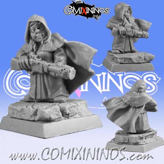 Dwarves - Dwarf Red Hood - Scibor Miniatures