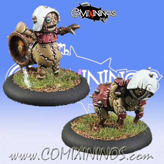 Halflings - Puppet Set of 2 Blitzers - Meiko Miniatures