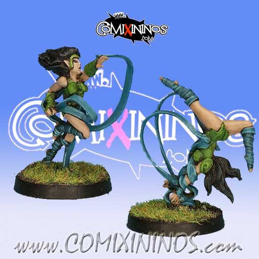 Wood Elves - Set of 2 Silvania Wardancers - Rolljordan