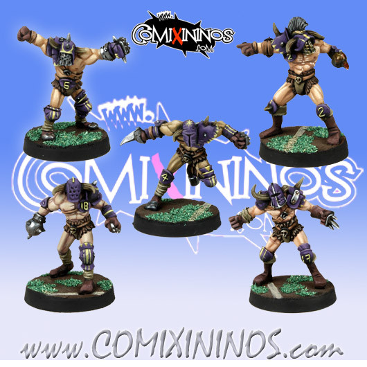 Evil Pact - Set of 5 Marauders -  Meiko Miniatures