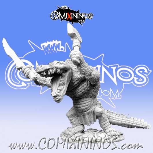 Lizardmen - Shrend Alligator-Man - Reaper