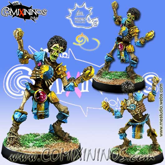 Undead / Egyptian - Afro Skeleton nº 4 - Meiko Miniatures