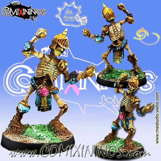Undead / Egyptian Tomb Kings - Skeleton nº 5 - Meiko Miniatures
