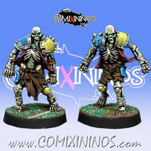 Undead / Egyptian - Set of 2 New Skeletons - Willy Miniatures