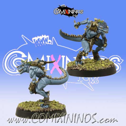 Lizardmen -  Baby Lizard Assassin Star Player - SP Miniaturas