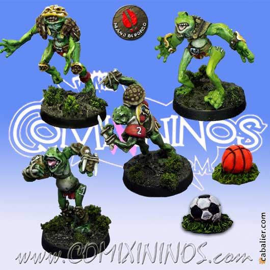 Frogmen - Expansion Pack 4 Players + 2 Sport Footballs - Mano di Porco