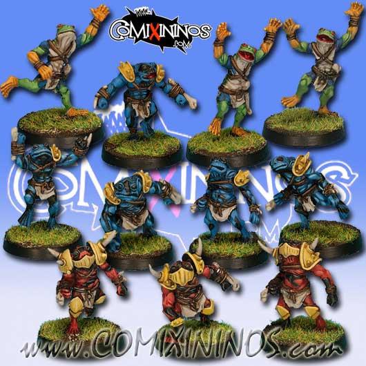 Frogmen - Horned Frogs Team of 11 Players - Rolljordan