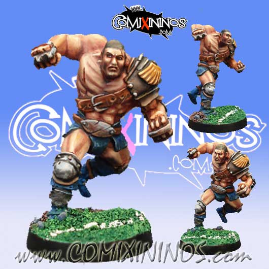 Humans - Star Player Human Hard - Willy Miniatures