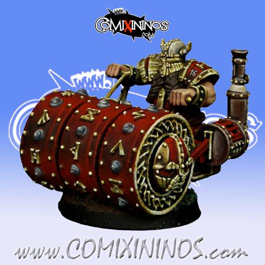 Dwarves - Dwarf Steamroller - SP Miniaturas