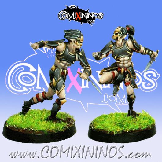 Dark Elves - Tanatos Assassins Set of 2 - MK1881