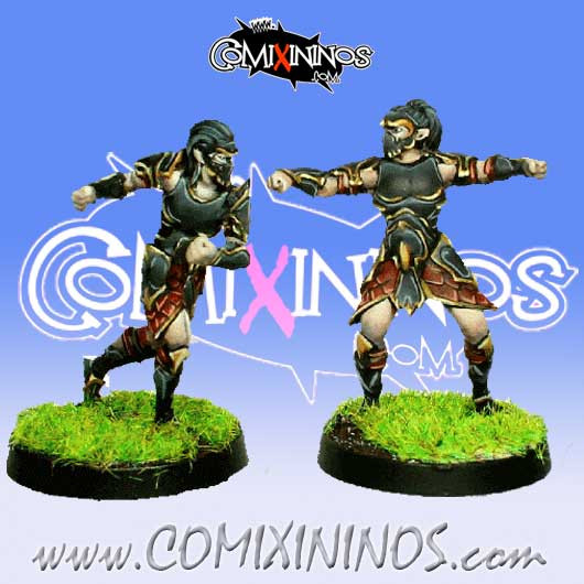 Dark Elves - Set 1 of 2 Tanatos Blitzers nº 1 and nº 2 - MK1881