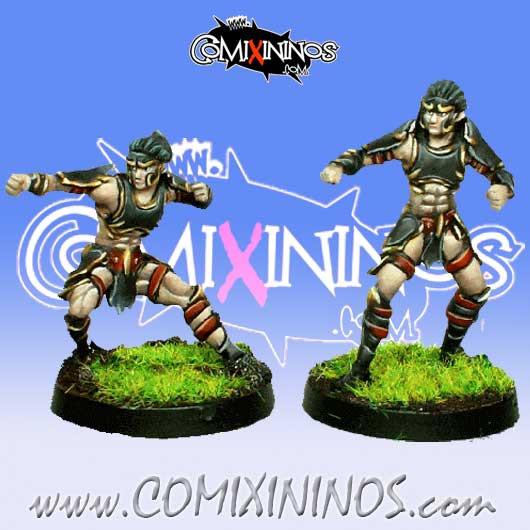 Dark Elves - Tanatos Linemen Pack 1 of 2 Players – MK1881