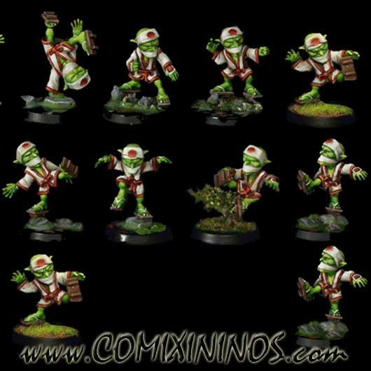Goblins - Tengu Set of 10 Players - Rolljordan