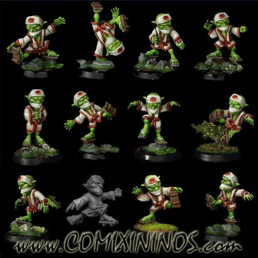 Goblins - Tengu Set of 12 Players - Rolljordan