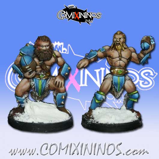 Norses - Set of 2 Icelander Throwers - Rolljordan