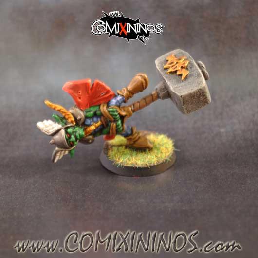 PAINTED Goblin Thunder God Fanatic