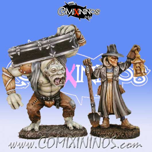 Undead / Vampires - Townsfolk VI Gravedigger and Henchman - Reaper