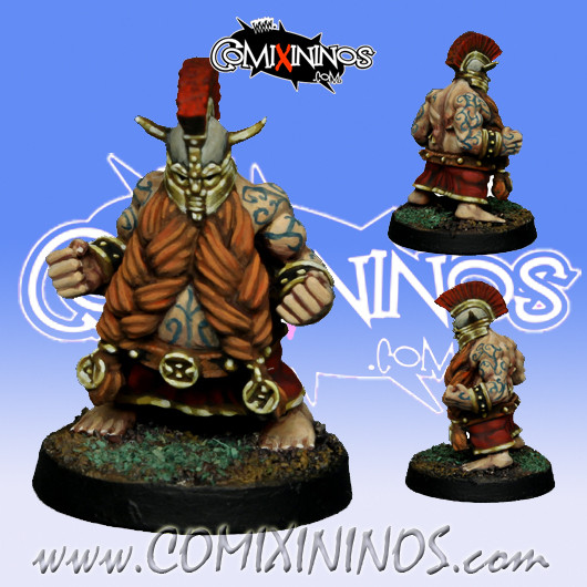 Dwarves - Dwarf Troll Slayer nº 2 - SP Miniaturas