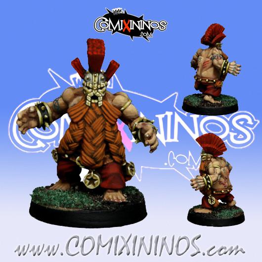 Dwarves - Dwarf Troll Slayer Star Player - SP Miniaturas
