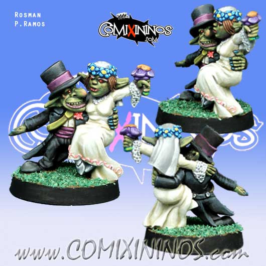 Goblins - Goblin Wedding - Willy Miniatures