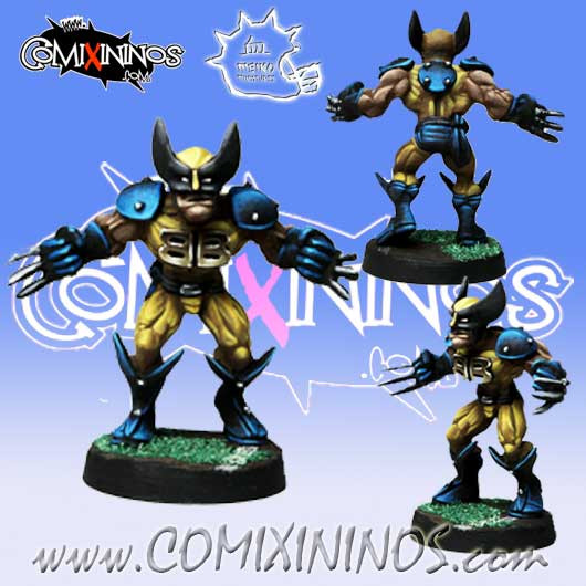 Humans / Norses - WolBBerine Star Player - Meiko Miniatures