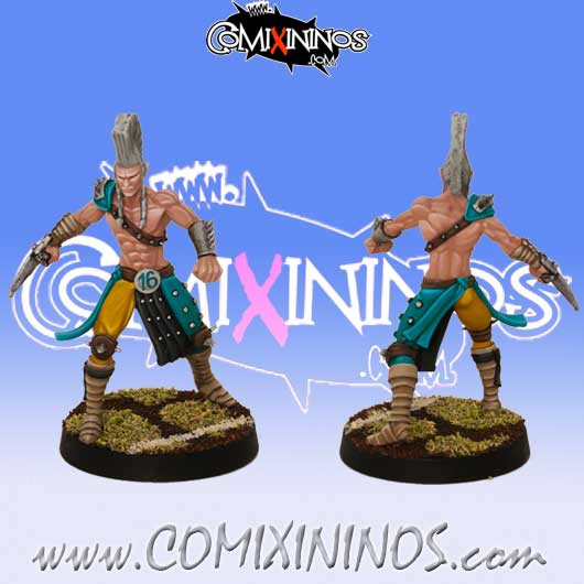 Wood Elves - Blitzer Elf Star Player - SP Miniaturas