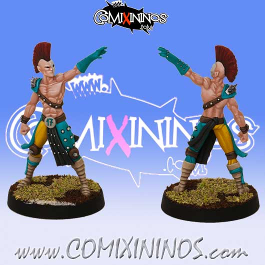 Wood Elves - Fredrick Star Player - SP Miniaturas