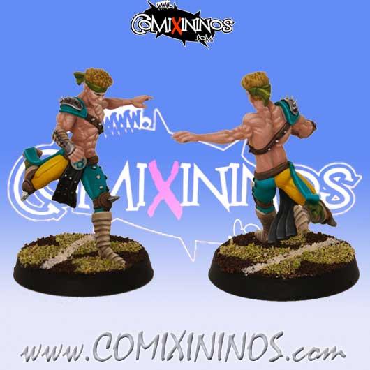 Wood Elves - Deifird Longstride Kicker Star Player - SP Miniaturas