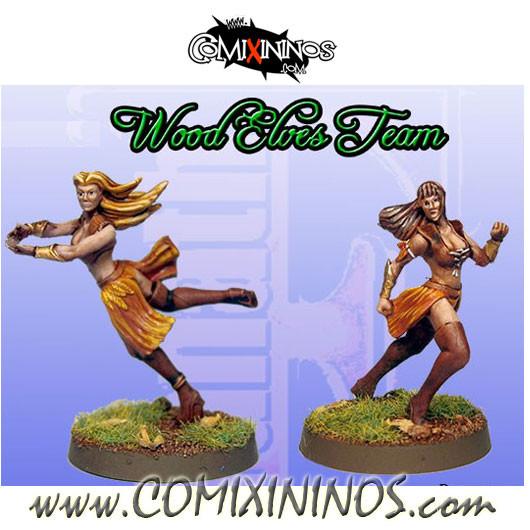 Wood Elves - Elf Catchers Set B of 2 - Fanath Art